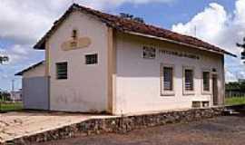 Amanhece - Amanhece-MG-Antiga Estação Ferroviária-Foto:www.estacoesferroviarias.com.br
