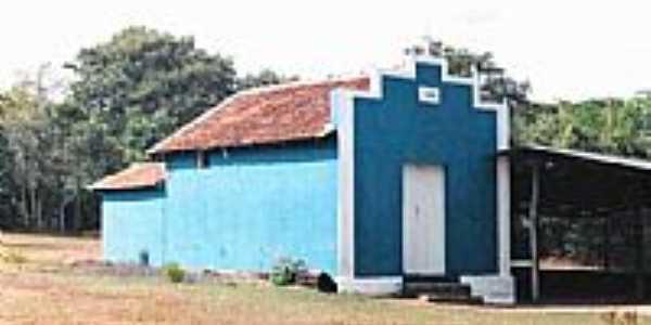 Amanhece-MG-Capelinha de Macaúba,distrito de Amanhece-Foto:Glaucio Henrique Cha…