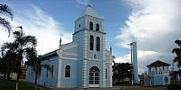 Amanhece-MG-Igreja de N.Sra.Aparecida-Foto:olintocristo