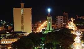 Andradas - Andradas-MG-Vista noturna do centro da cidade-Foto:sergio patrizi