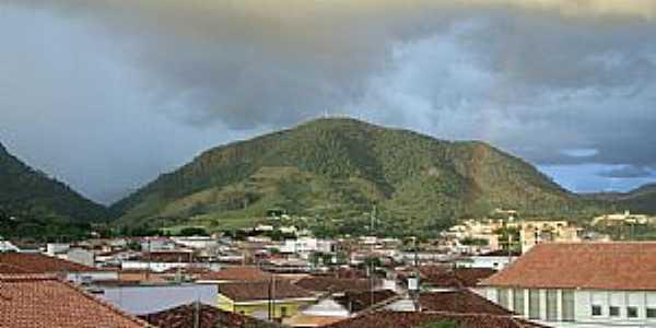 Andradas-MG-Vista da Serra do Caracol-Foto:sergio patrizi