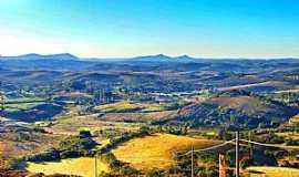 Andrelândia - Vista panoramica da Pedra do Gavião - Parque Arqueológico
