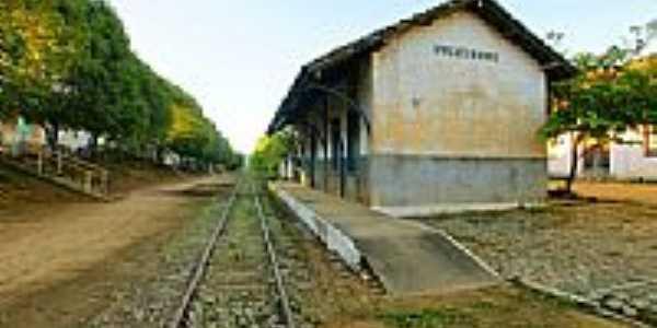 Estação Ferroviária-Foto:sgtrangel
