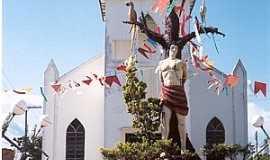 São Sebastião do Uatumã - São Sebastião do Uatumã-AM-Igreja de São Sebastião-Foto:www.ale.am.gov.br