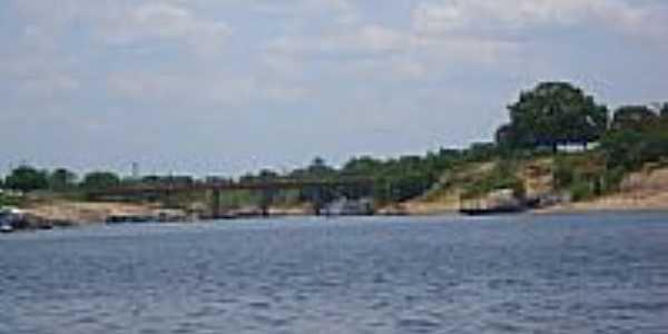 Ponte sobre o Rio Uatumã em São Sebastião do Uatumã-Foto:Miquéias Souza