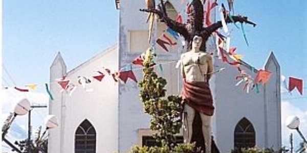 São Sebastião do Uatumã-AM-Igreja de São Sebastião-Foto:www.ale.am.gov.br