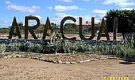 Araçuaí - Entrada da cidade de Araçuaí-Foto:Ivan Cândido