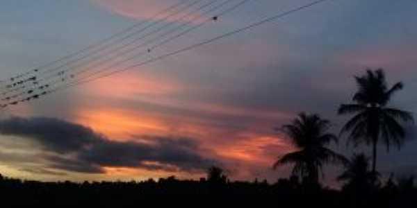 O mais lindo pôr do sol de anel alagoas, Por Maria