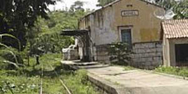 Antiga Estação Ferroviária de ANEL-Foto:Fleury Barros