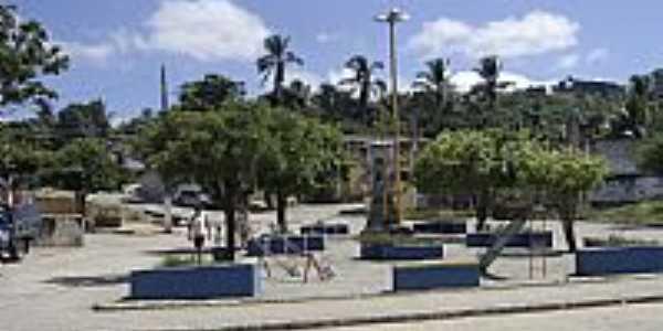 Praça Central de ANEL-Foto:Fleury Barros