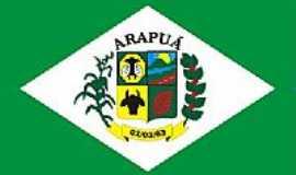 Arapuá - Bandeira de Arapuã-MG