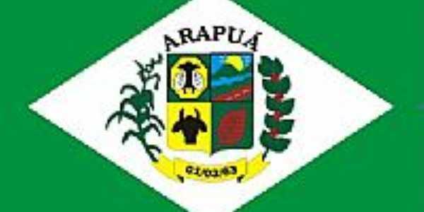 Bandeira de Arapuã-MG