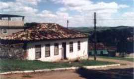 São Miguel do Cajuru - Antiga casa -  Por José Antônio de Ávila Sacramento