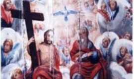 São Miguel do Cajuru - Detalhe da pintura do forro da Igreja de S. Miguel do Cajuru, Por José Antônio de Ávila Sacramento