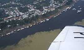 Tapauá - Vista aérea de Tapauá-AM-Foto:Loránd Jelényi