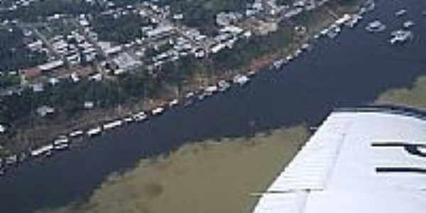 Vista aérea de Tapauá-AM-Foto:Loránd Jelényi