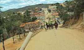 Avaí do Jacinto - Avaí do Jacinto-MG-Cavalgada na entrada da cidade-Foto:Nelio Neres