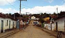 Avaí do Jacinto - Avaí do Jacinto-MG-Rua da cidade e ao fundo a Igreja-Foto:noesioalmeida