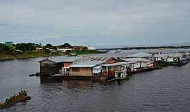 Tefé - Tefé-AM-Casas flutuantes-Foto:Cezar Mario Rech