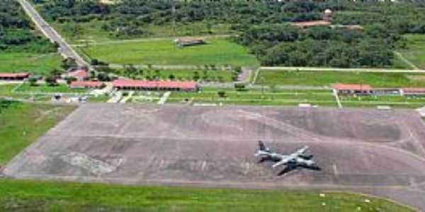 Imagens da cidade de Tefé- AM- Aeroporto estadual.