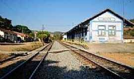 Azurita - Antiga Estação Ferroviária-Foto:Leandro Durães