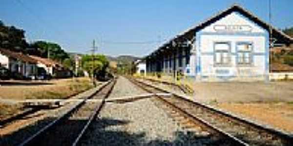 Antiga Estação Ferroviária-Foto:Leandro Durães