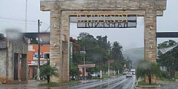 Baependi-MG-Pórtico de entrada da cidade-Foto:Josue Marinho