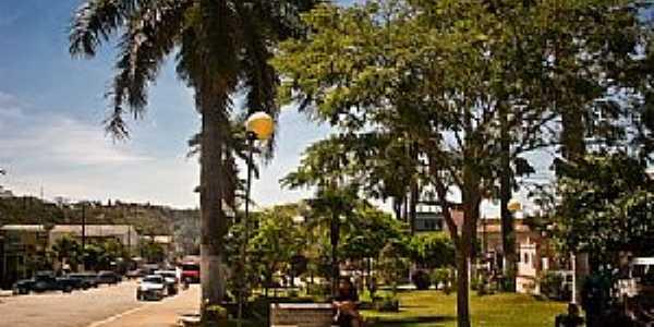 Baldim-MG-Praça da Matriz-Foto:Cidade Brasil