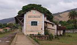 Bandeirantes - Ruinas da Estação Ferroviária Ribeirão do Carmo atual Bandeirantes-Foto;Geraldo Salomão