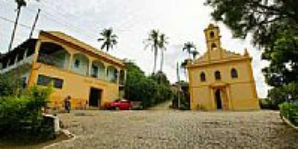 Igreja da Imaculada Conceição e Casa Paroquial em Barão de Monte Alto-Foto:sgtrangel