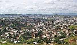 Barra da Figueira - Barra Alegre-MG-Vista aérea do distrito-Foto:Wikipédia
