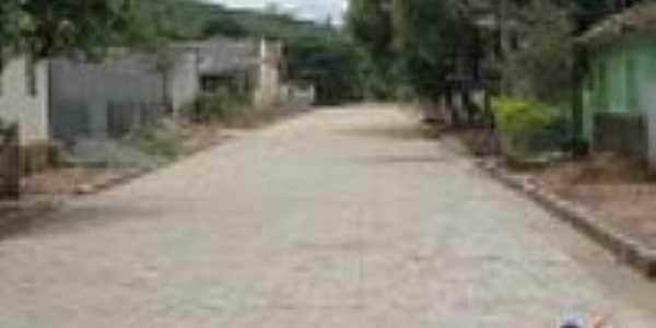 Rua de Barra do Ariranha-Foto:Prefeitura de Mantena