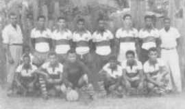 Barra do Cuiet� - Industrial Futebol Clube - anos 50, Por Aureluz S�timo