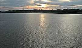 Uarini - Pór do Sol no Rio Juruá em Uarini-Foto:macilio-gomes