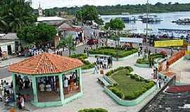 Uarini - Uarini-AM-Vista do centro da cidade-Foto:www.iprconcursos.com.br