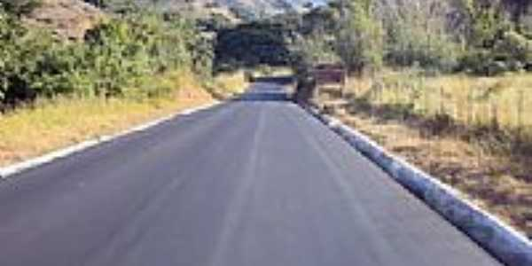 Estrada para Barra Longa-MG-Foto:Milton Brigolini Nem…