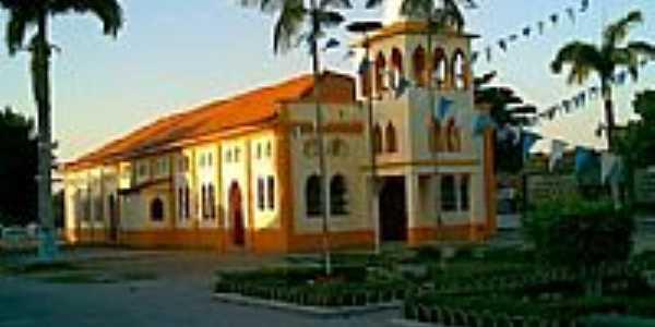 Urucar�-AM-Igreja de Sant�Ana-Foto:heniscleyguerreiro.webnode.com.br