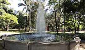 Belo Horizonte - Belo Horizonte-MG-Fonte no Parque Municipal Américo Renné Gianne-Foto:Paulo Yuji Takarada