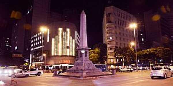 Belo Horizonte-MG-Praça do Obelisco-Foto:PMBH-Facebook
