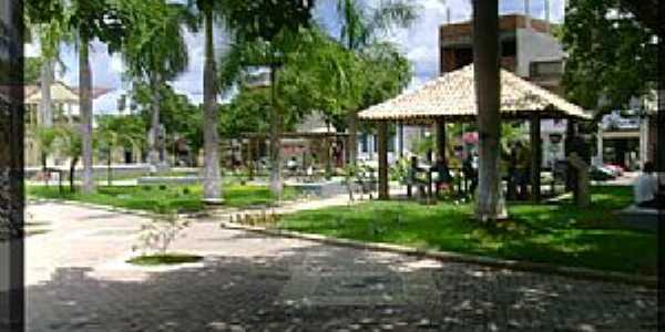 Belo Oriente-MG-Quiosque na Praça da Jaqueira-Foto:ipbo.org.br