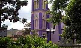 Bicas - Igreja Matriz de S�o Jos� em Bicas-Foto:Jorge A. Ferreira Jr�