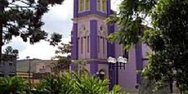 Igreja Matriz de São José em Bicas-Foto:Jorge A. Ferreira Jr…
