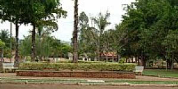 Praça por montanha