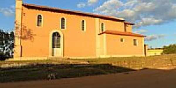 Vista lateral da Igreja de N.Sra.das Dores-Foto:Edson da Rocha (Edin…
