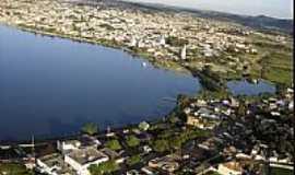 Boa Esperan�a - Bos Esperan�a-MG-Vista a�rea da cidade e Lago de Furnas-Foto:boaesperancamg.wordpress.com