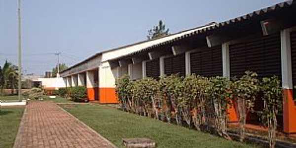 Vila Pitinga-AM-Colégio Pitágoras-Foto:Raiza Lucena.