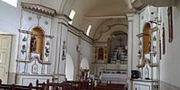 Bocaina de Minas-MG-Interior da Paróquia de N.Sra.do Rosário-Foto:Raymundo P Netto