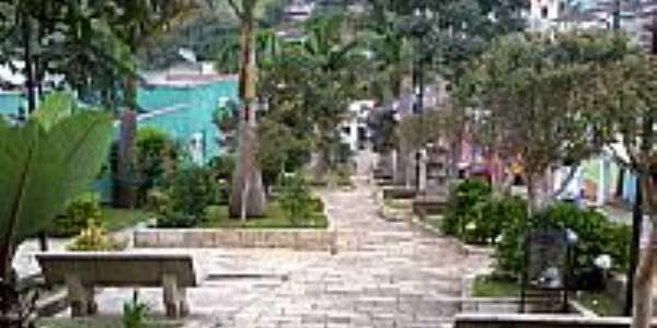 Bocaina de Minas-MG-Praça Deputado Feliciano Pena-Foto:Raymundo P Netto