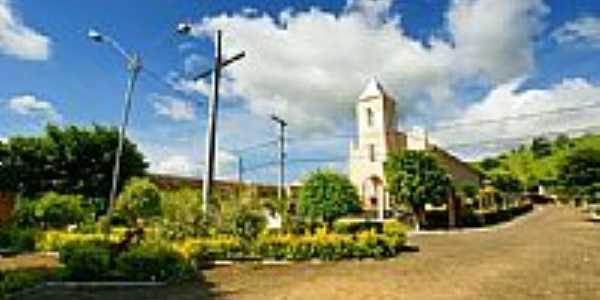 Praça e Igreja Bom Jesus-Foto:sgtrangel