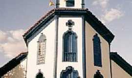 Bom Jesus do Amparo - Igreja Matriz-Foto: M. G. Torres Portol1…